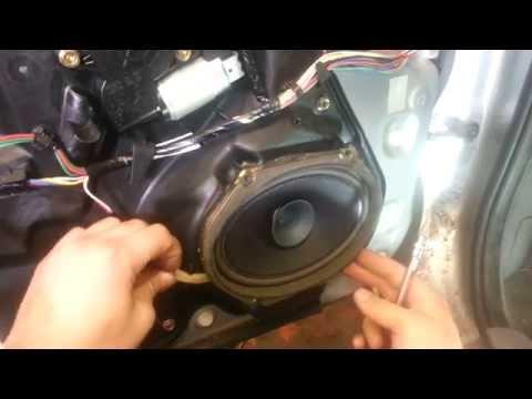 How to Change Replace Front Door Speaker Mazda 6 2005