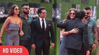 Virat kohli And Anushka Sharma At Sachin A Billion Dreams Grand Premiere | Viralbollywood