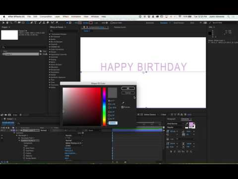 Make a Move! Motion Graphics in After Effects for Beginners: Session 3