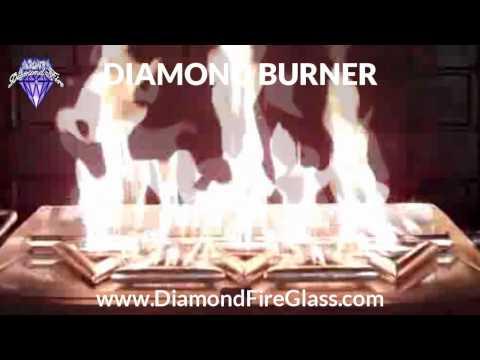 DIAMOND BURNER - by Diamond Fire Glass™
