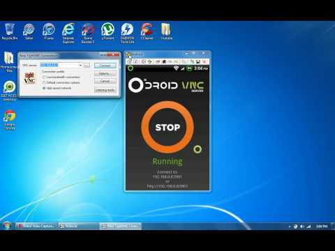 How to control android phone from pc computer 2012
