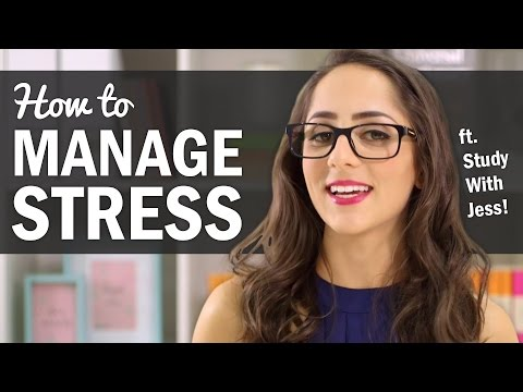 Tips for Managing School Stress - ft. Study With Jess