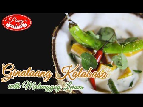 Ginataang Kalabasa Pinoy Recipe : How to cook Ginataang Kalabasa  | Pinoy Recipes