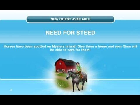 [The Sims Freeplay] - Need For Steed Görevi