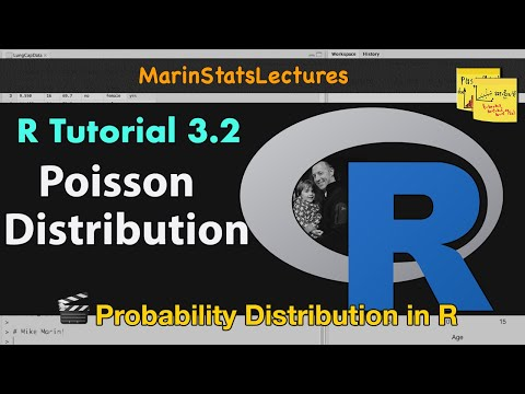 Poisson Distribution in R (R Tutorial 3.2)