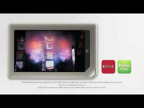 Nook Tablet Review - Apps, 2.5+ Million eBooks, 1GB RAM, 11.5 Hours Battery Life