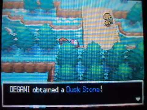 Pokemon Black/White - How to get Dusk Stone + TM 05 (Roar)
