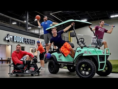DPHQ2 Trick Shots | Dude Perfect