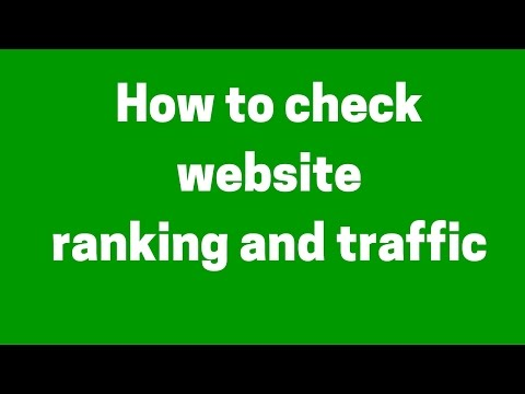 How to check website ranking, Traffic and visitor count in hindi | Urdu| Alexa tutorial in hindi