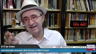 Reinaldo Azevedo: Nem judeu pode empregar frase do portão de Auschwitz