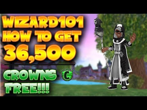 How to get 36,500 Crowns for free // Wizard101