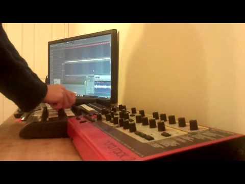 Live Goa Psytrance Acid FL Studio Behringer BCR2000 Nord Lead Rack 2