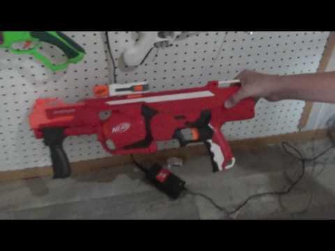 nerf gun wall BOI!!!!!!!!!!!!!