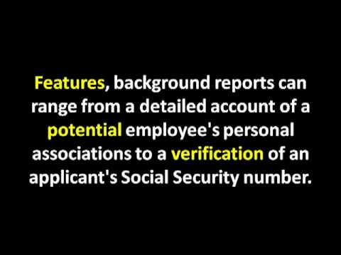 Reasons to Perform a Background Check | Criminal Background Check | Employment Background Check