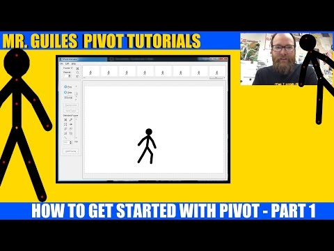 Getting Started With Pivot Stick Figure Animator - Part 1