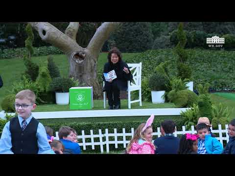 White House Easter Egg Roll: Reading Nook with Secretary Elaine Chao