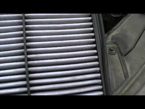 '' how to clean a car air filter'' The Taylors episode 472