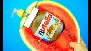 17 SMART PARTY TRICKS and WATERMELON HACKS!