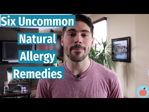 The 6 Uncommon Natural Allergy Remedies That You Need To Have