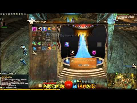 GW2 Crafting Mystic Clover in the Mystic Forge