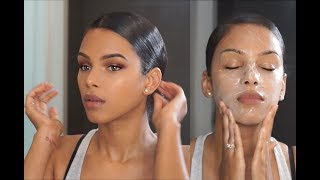 (All-in-One) Daily Radiant Skin Care, Beauty Routine & Sleek Hair in 3 mins!