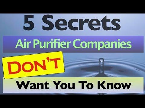 Air Purifier Warning