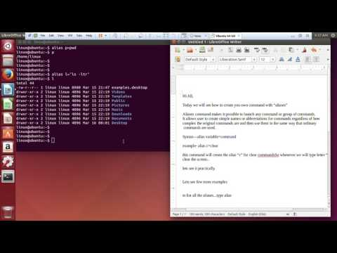How to create your own command using