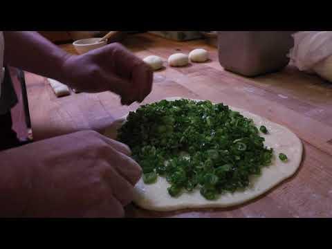 Green Onion Pancakes at Chili House SF