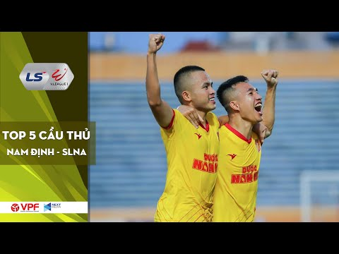 DNH Nam Định - SLNA | Top 5 gương mặt hứa hẹn tỏa sáng vòng 7 V.League 2020 | VPF Media