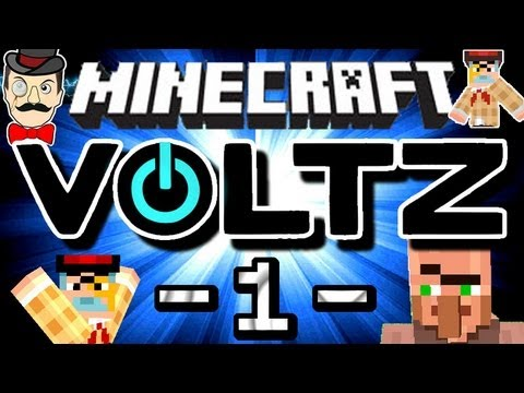 Minecraft VOLTZ #1 - Powering Up!