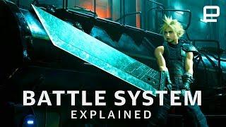 Final Fantasy VII Remake Battle System Explained at E3 2019