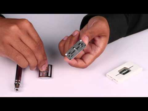 How to change blades for a Edwin Jagger DE8911 Safety Razor