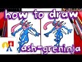 Download lagu How To Draw Ash-Greninja Pokemon