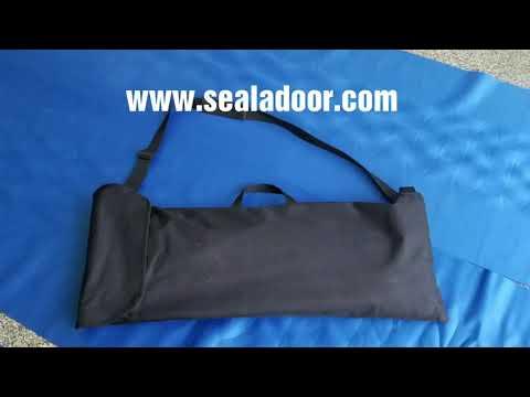 New Seal-A-Door floor coverings bags and more! www.sealadoor.com