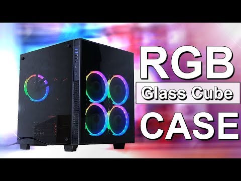 Awesome RGB Glass Cube Case! -- anidees AI Crystal Cube AR
