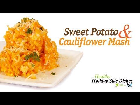 Sweet Potato & Cauliflower Mash - 5 Healthy Holiday Side Dishes - BPI Sports