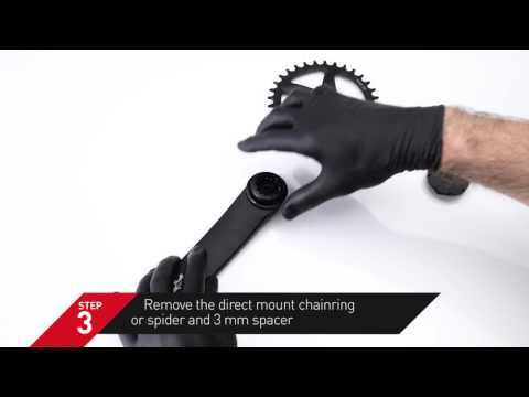 HOW TO - FSA MODULAR CRANK DIRECT MOUNT CHAINRING / SPIDER REMOVAL
