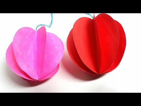Origami Tutorial- How to fold an Easy Origami ornaments Christmas balls