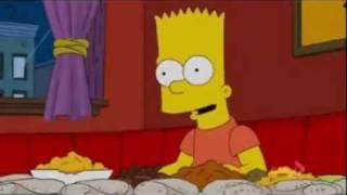 The Simpsons dine in Ethiopian restaurant
