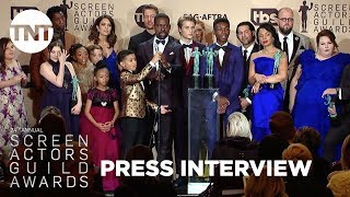This Is Us: Press Room Q&A   24th Annual SAG Awards   TNT