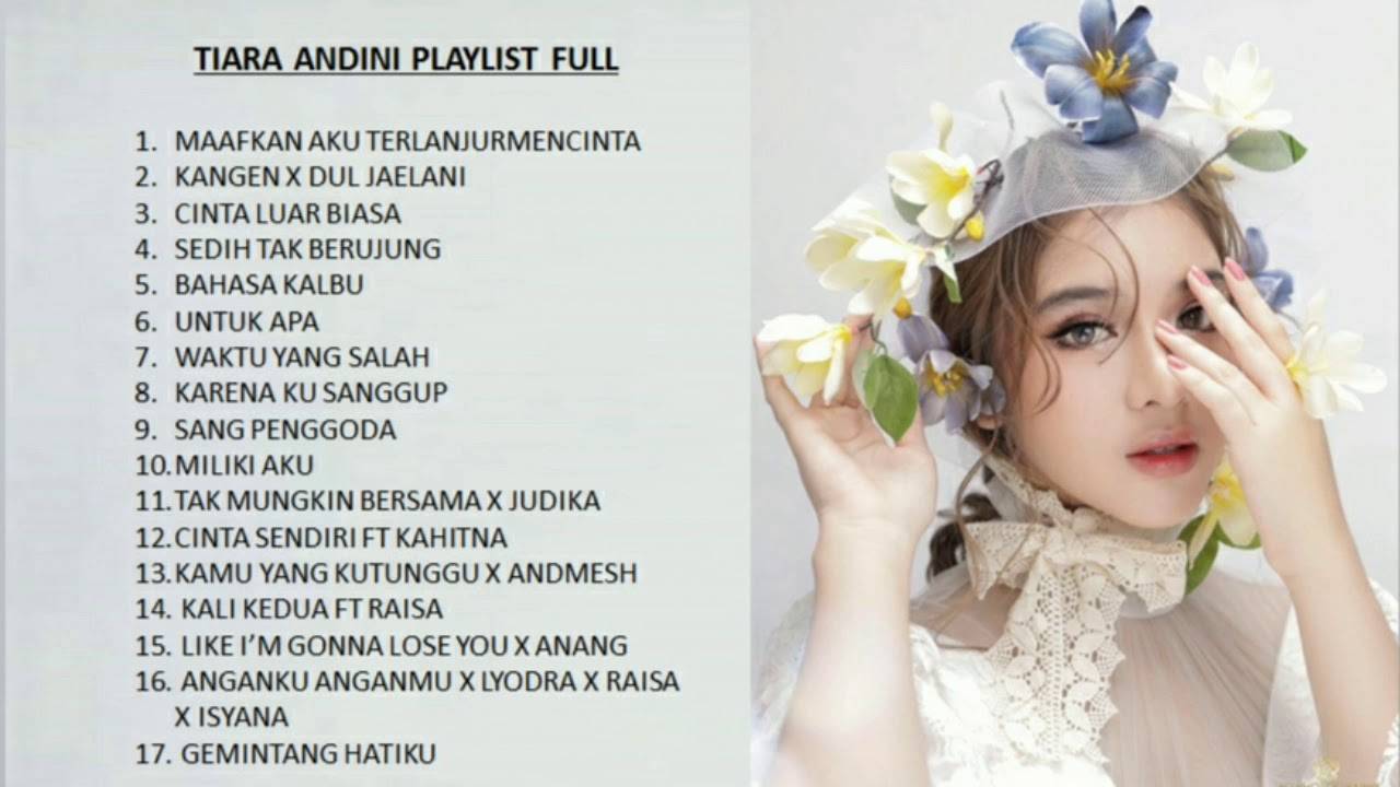 Tiara Andini - Kumpulan Lagu Terbaik (The Most Sweetheart Song/Baper) FULL ALBUM Tiara Idol 2020