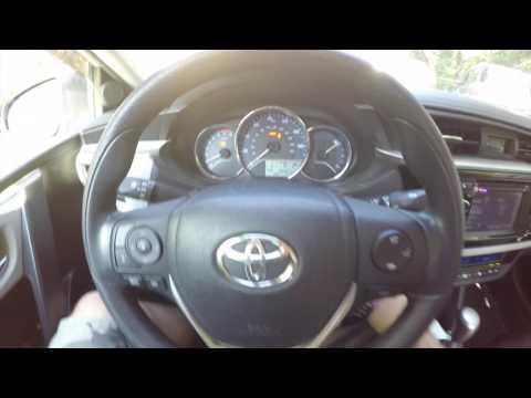 Reset Maintenance Light on Toyota Corolla 2014-2016