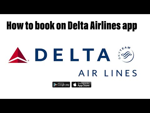 How to book on the Delta Airlines App