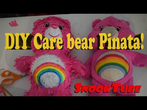 DIY Care Bear Pinata! Easy Homemade Tutorial!