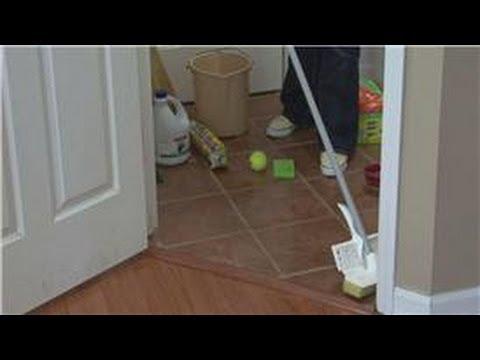 Housekeeping Tips : How to Clean Vinyl Floors