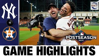 Jose Altuve's walk-off HR sends Astros to World Series in Game 6! | Yankees-Astros MLB Highlights
