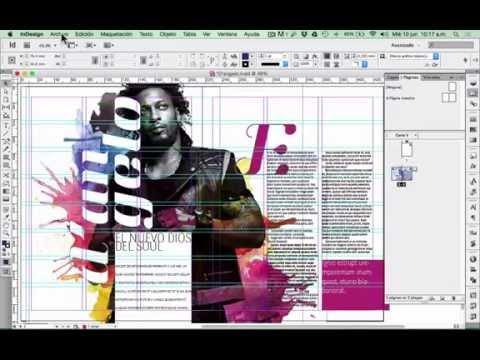 Tutorial InDesign básico: Maquetación. Video tutorial 1