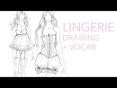 Fashion Vocabulary: Lingerie