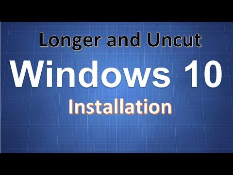 Windows 10 Complete installation uncut