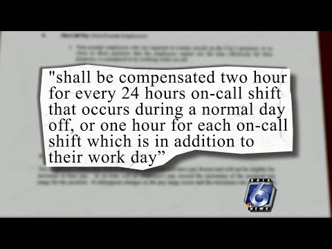 Employees suing city for on-call back-pay